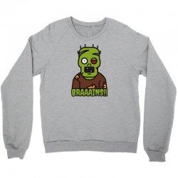 Brains Eater Crewneck Sweatshirt   Artistshot