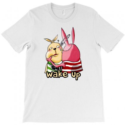 Wake Up Dude T-shirt Designed By Homienice