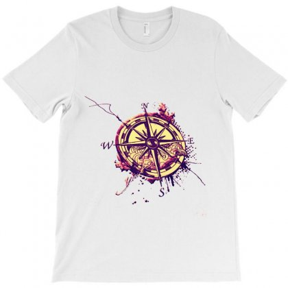 Compass T-shirt Designed By Sefaarioglu
