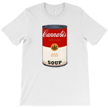 Cannabis Soup T-shirt Designed By Homienice