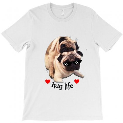 Pug T-shirt Designed By Sefaarioglu
