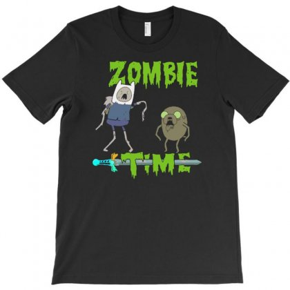 Zombie Time T-shirt Designed By Yoseptees