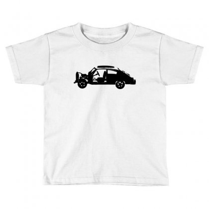 Chevy Fleetline Vehicle Toddler T-shirt Designed By Purbawa