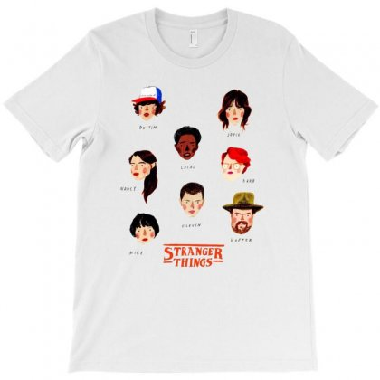 Stranger Things T-shirt Designed By Anggafadil