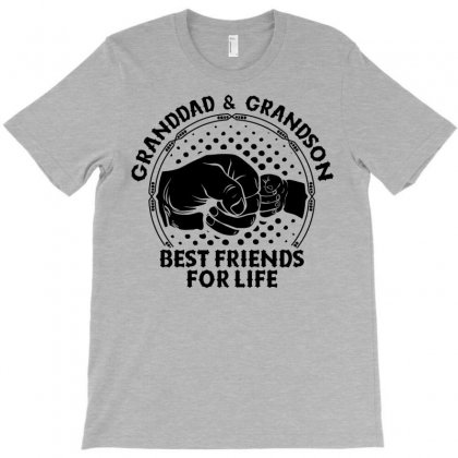 Granddad And Grandson Best Friends For Life T-shirt Designed By Tshiart