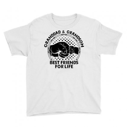 Granddad And Grandson Best Friends For Life Youth Tee Designed By Tshiart
