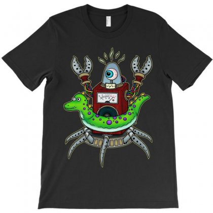 Crab Octopus Summer Primus T-shirt Designed By Harmonydue