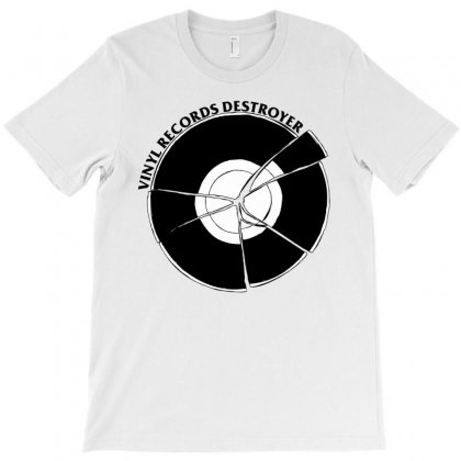 Vinyl Destroyer T-shirt Designed By Homienice