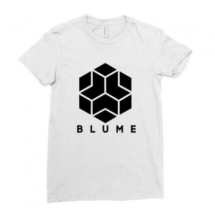 Blume Ladies Fitted T-shirt Designed By Homienice