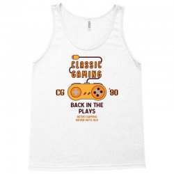 Classic Gaming - Back In The Plays Tank Top | Artistshot