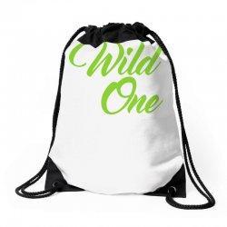 Wild One Drawstring Bags | Artistshot