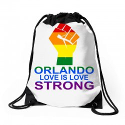 Love Is Love, Orlando Strong Drawstring Bags | Artistshot