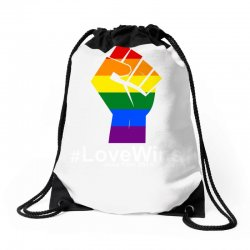 Love Wins 12th 2016 - Orlando Strong Drawstring Bags | Artistshot