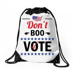 Dont Boo. Vote. Drawstring Bags   Artistshot