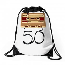 music tape retro Drawstring Bags | Artistshot