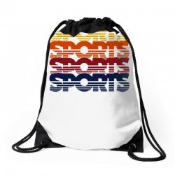 vintage sports Drawstring Bags   Artistshot