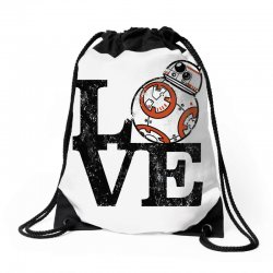 love bb Drawstring Bags   Artistshot