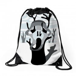 the tree's scream Drawstring Bags | Artistshot