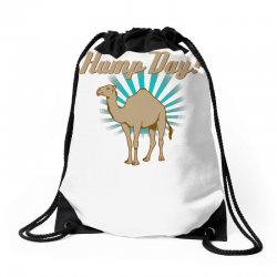 funny hump day camel Drawstring Bags   Artistshot