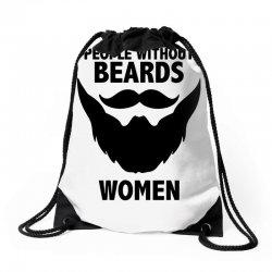 funny beards Drawstring Bags | Artistshot