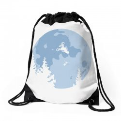 funny et moon bmx Drawstring Bags | Artistshot