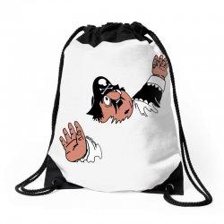 funny captain pugwash Drawstring Bags   Artistshot