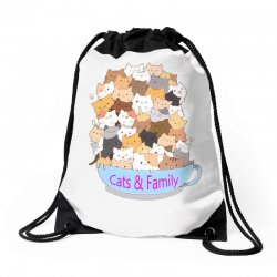 Cats Drawstring Bags | Artistshot