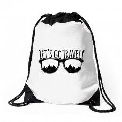 Let's go the Travel Drawstring Bags | Artistshot