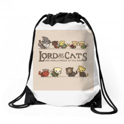 Lord Of The Cats Drawstring Bags | Artistshot