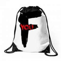 funny mens t shir 'f'yout Drawstring Bags | Artistshot