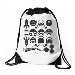 Out Space Drawstring Bags | Artistshot