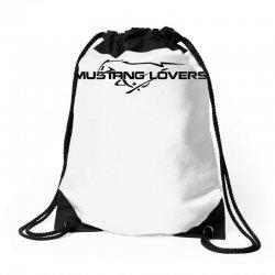 Mustang car Drawstring Bags | Artistshot