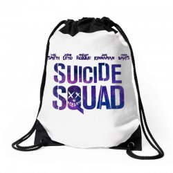 Suicide Squad Drawstring Bags   Artistshot