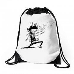 Zombie Music Drawstring Bags   Artistshot