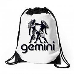 gemini Drawstring Bags | Artistshot