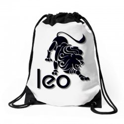 leo Drawstring Bags | Artistshot