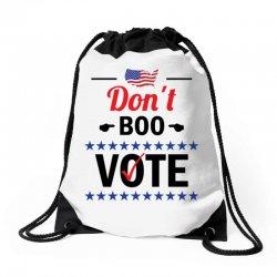Don't Boo Vote 01 Drawstring Bags | Artistshot
