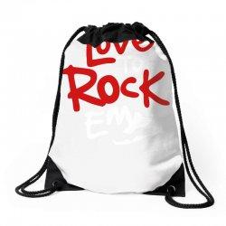 love to rock em Drawstring Bags | Artistshot