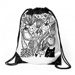 funny vegetables Drawstring Bags | Artistshot