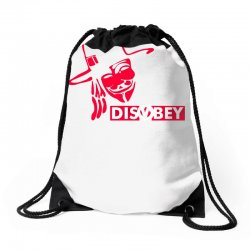 disobey joke politics Drawstring Bags | Artistshot