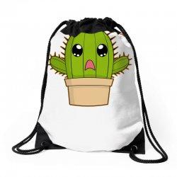 funny cactus hug Drawstring Bags | Artistshot