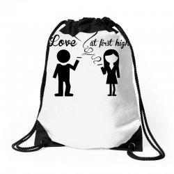 love at first high Drawstring Bags   Artistshot