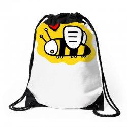 love bee lover valentine Drawstring Bags   Artistshot