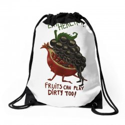 eat fruits Drawstring Bags | Artistshot