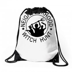 neighbourhood witch hunt Drawstring Bags | Artistshot