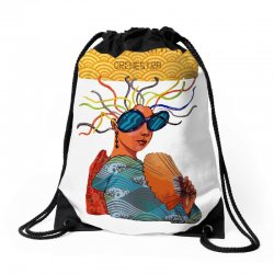 yellow magic orchestra Drawstring Bags | Artistshot