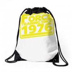 geeky 40th birthday Drawstring Bags   Artistshot