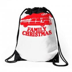 family christmas Drawstring Bags | Artistshot