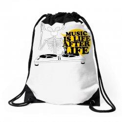 music is life Drawstring Bags | Artistshot