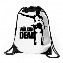 the walking dead Drawstring Bags | Artistshot